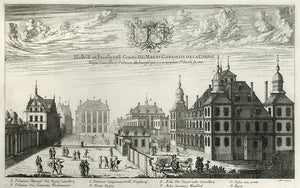 Swedish View: Erik Dahlberg 1700