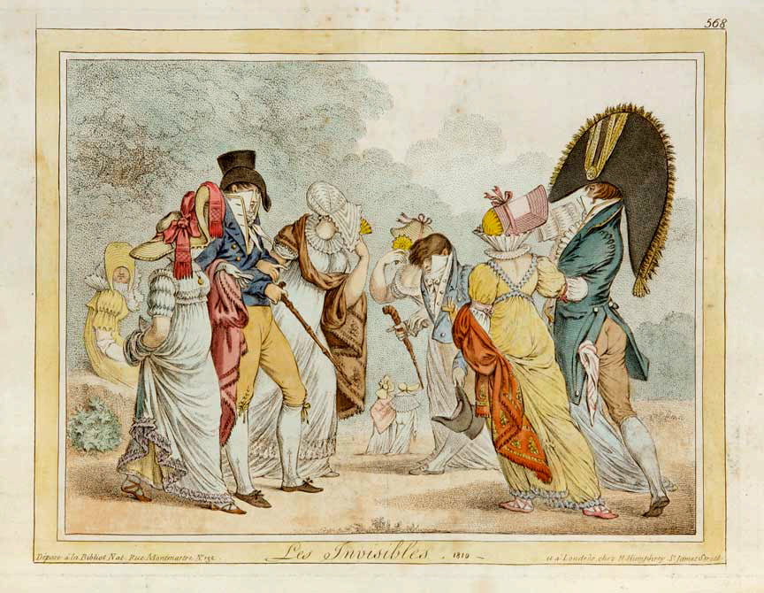 Les Invisibles: James Gillray 1851