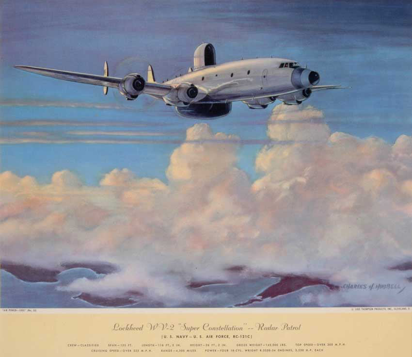 "Lockheed ""Super Constellation"": Charles Hubbel 1949-55"