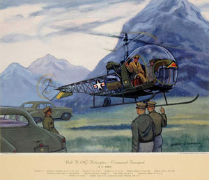 U.S. Army Helicopter: Charles Hubbel 1949-55