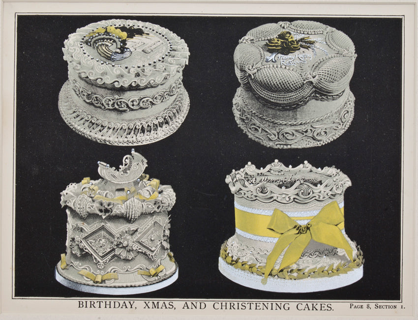 Birthday, Christmas, And Christening Cakes: T. Percy Lewis & A. G. Bromley 1903