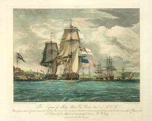 Battle Between The US Frigate Chesapeake And H.M.S. Shannon: Schetky 1830