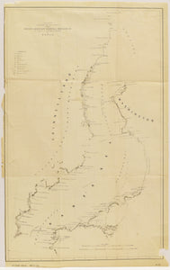 Map From The Second American Grinnell Expedition: Kane 1853-56