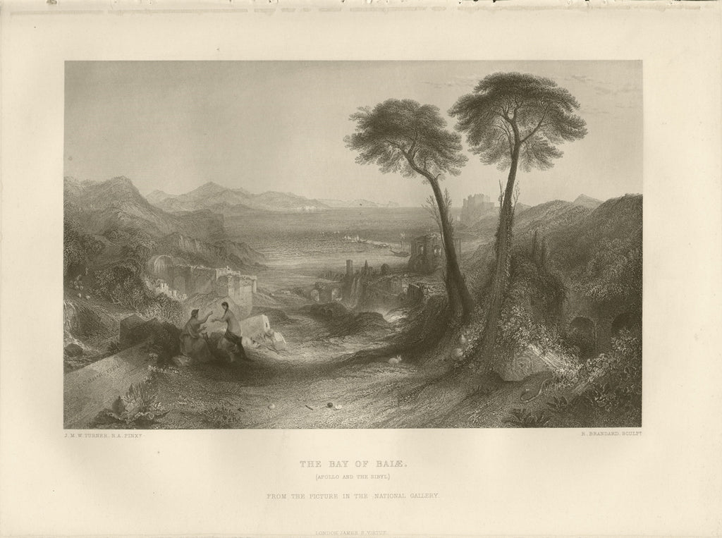 The Bay of Baiae: Turner c. 1880