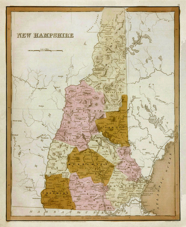 New Hampshire: Thomas Bradford 1838