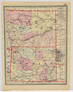 Wyoming and Eastern Montana: Tunison 1894