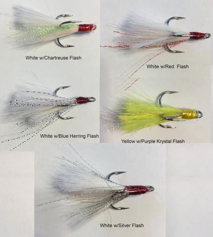 Dressed Bucktail Hooks