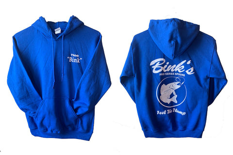 Bink's Hooded Sweat Shirts