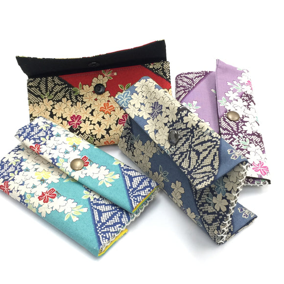 Double Sashiko wallet kit