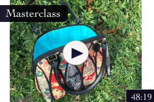 Stained Glass Quilting and Gothic Bag Step by Step