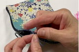 Double Zipper Sashiko Wallet PDF pattern