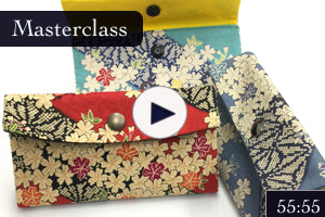 Masterclass: Double Sashiko Wallet Step-by-step Tutorial