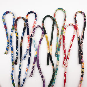 Soft Chirimen Cords 98cm~for Necklaces, bag handles and accessories.