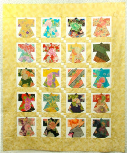 Kit: Assorted 20 Fabric Pieces Package Plus Pattern