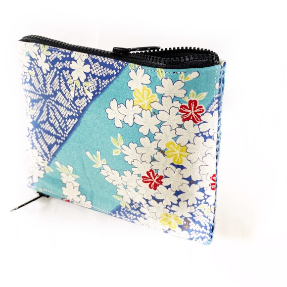 Double Sashiko wallet 2kit, Free Style Zippers, 2 sliders and MF tape 25m! 25% OFF