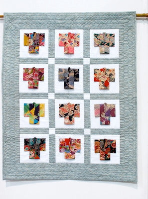 Origami Kimono 12pc Wall Hanging PDF Instruction and Diagram!