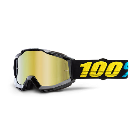 100% Accuri Goggle Virgo, Mirror Gold Lens