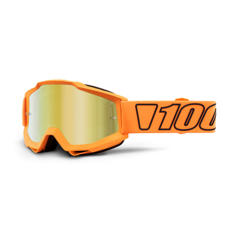 100% Goggle Accuri Luminari Mirror Gold Lens