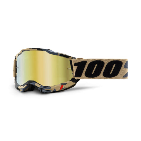 100% Goggle Accuri 2 Tarmac - True Gold Lens
