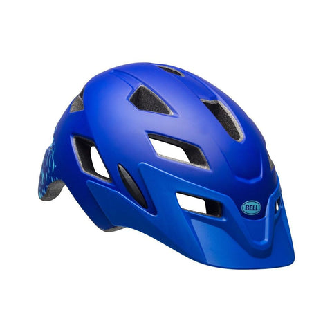 Bell Helmet Sidetrack Matte Blue YOUTH