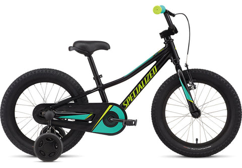 2021 Specialized Riprock 16 Coaster Gloss Tarmac Black/Emerald/Hyper Green