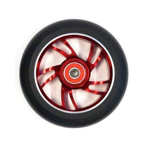Bulletproof Scooter Wheel Alloy 110mm Red