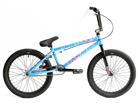 2021 Division Reark BMX 19.5TT Blue Crackle