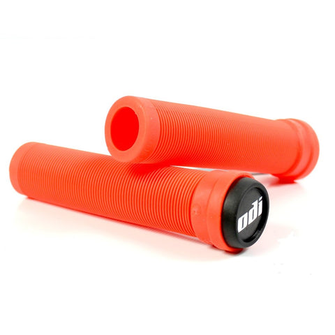 ODI Longneck Grip Flangeless Fire Red