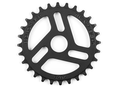 BSD Superlite Sprocket 28T Black
