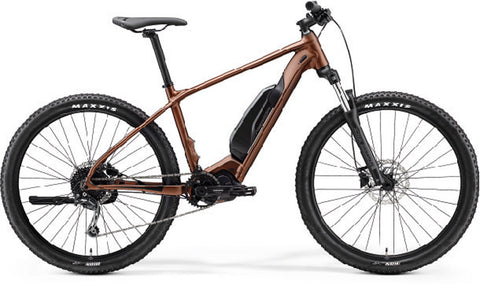 2021 Merida eBig Seven 300SE Silk Bronze / Black
