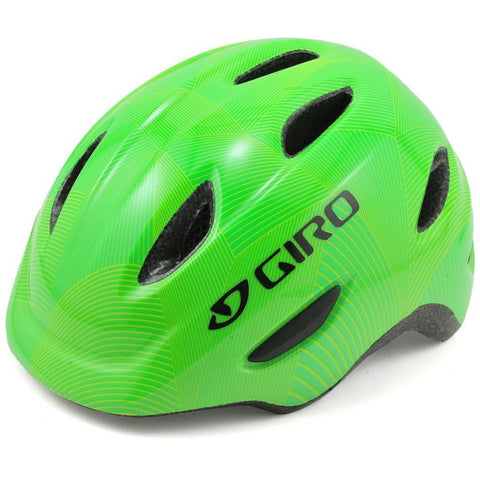 Giro Scamp Youth Helmet Green/Lime
