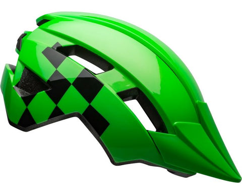 Bell Sidetrack II Helmet Light Matte Green / Black Youth