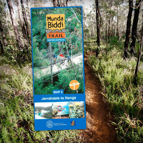 Munda Biddi Map 2 - Jarrahdale to Nanga