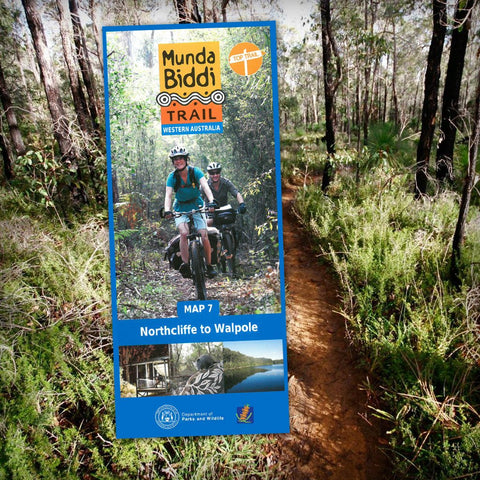 Munda Biddi Map 7 - Northcliffe to Walpole