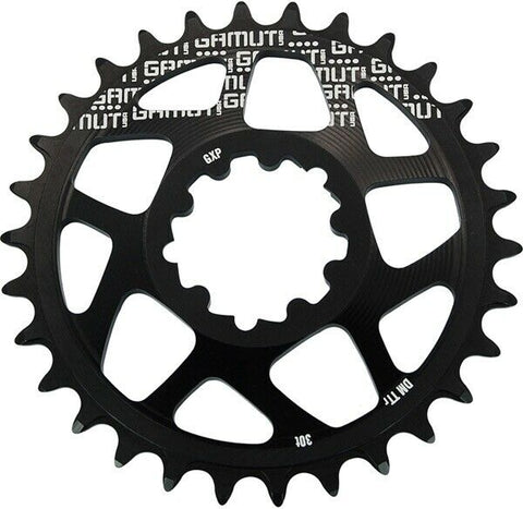 Gamut Chainring GXP Thick/Thin 32T Sram Direct Mount Black