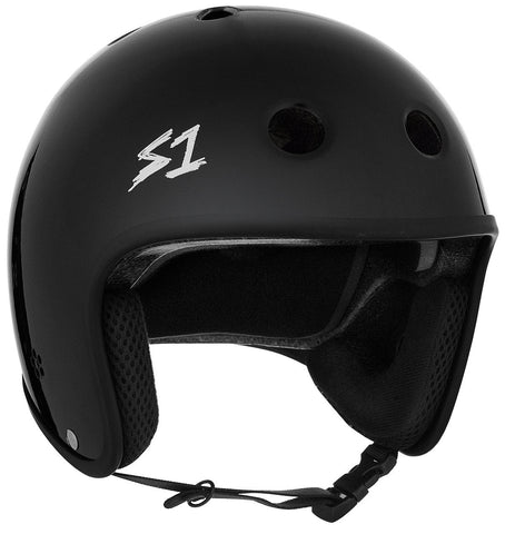 S-ONE Helmet Retro Lifer Gloss Black