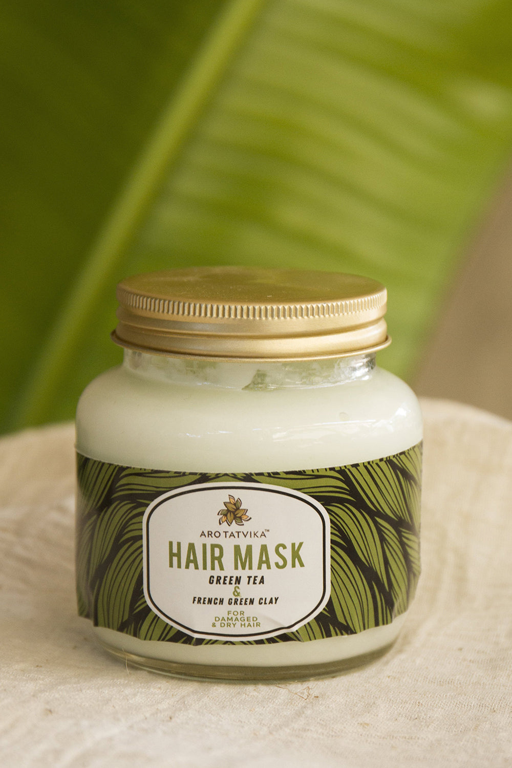 Green Tea with French Green Clay Hair Mask
