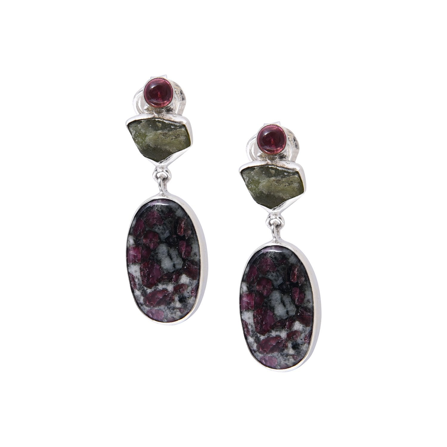 Tourmaline and Eudialyte - Go-Native Store