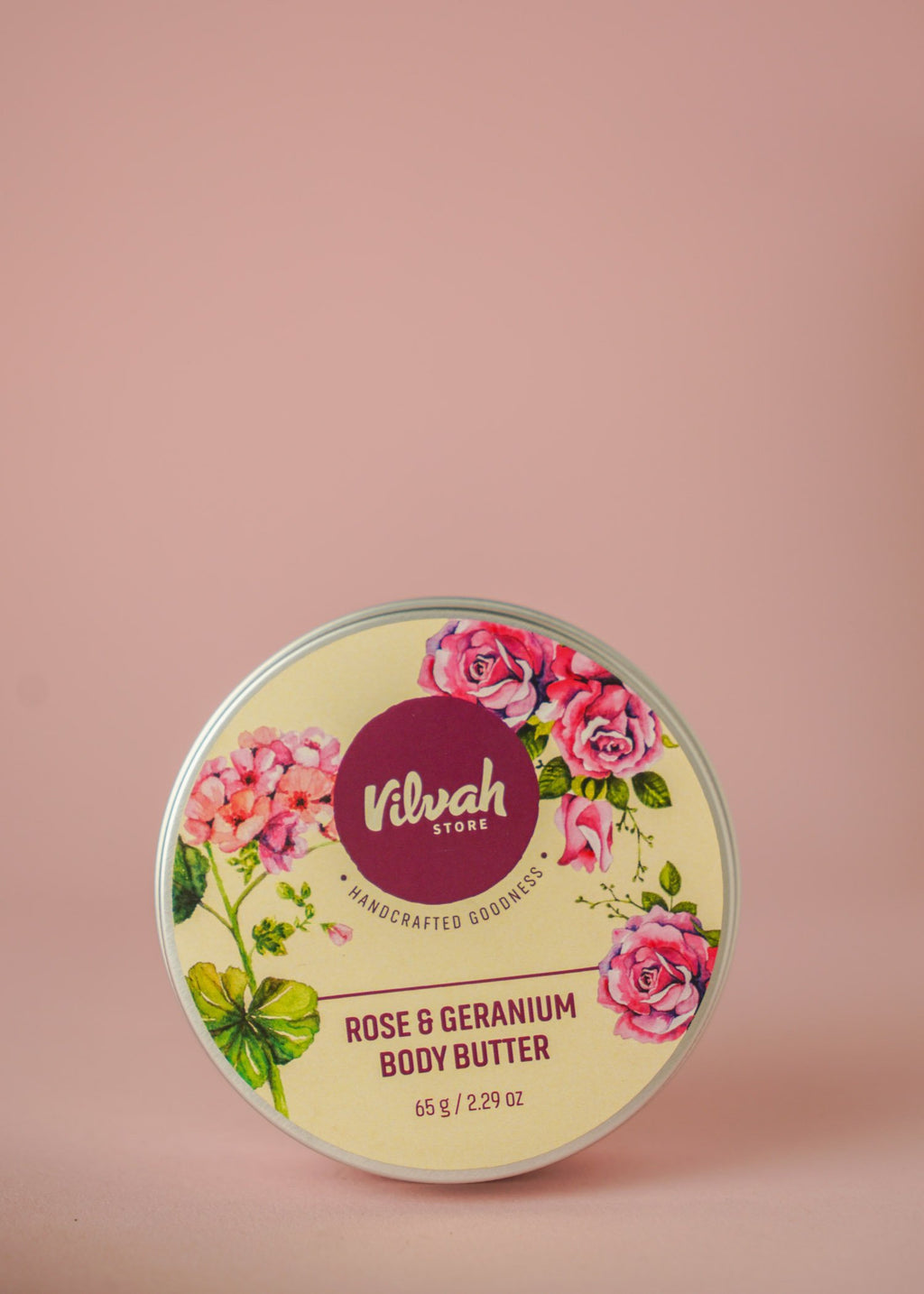 Rose And Geranium Body Butter - Go-Native Store