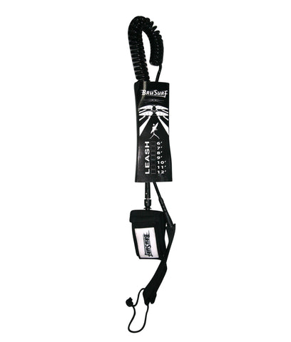 BruSurf 10′ SUP Coiled Leash