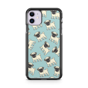 Pugs In The Sky Pattern iPhone 11 Case Cover