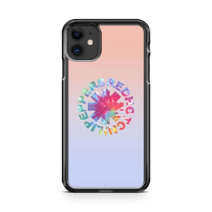 Red Hot Chili Peppers Tie Dye Logo iPhone 11 Case Cover