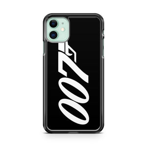 007 James Bond White And Black iPhone 11 Case Cover