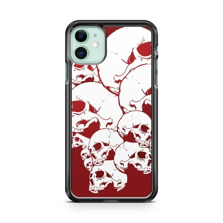 Pile Skulls Skeleton iPhone 11 Case Cover