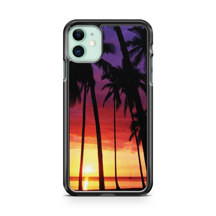 Pink Sunset iPhone 11 Case Cover