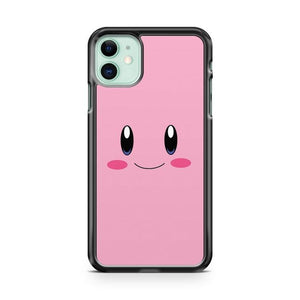 Pokemon Kirby Face iPhone 11 Case Cover