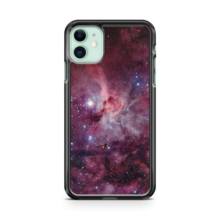 Red Galaxy iPhone 11 Case Cover