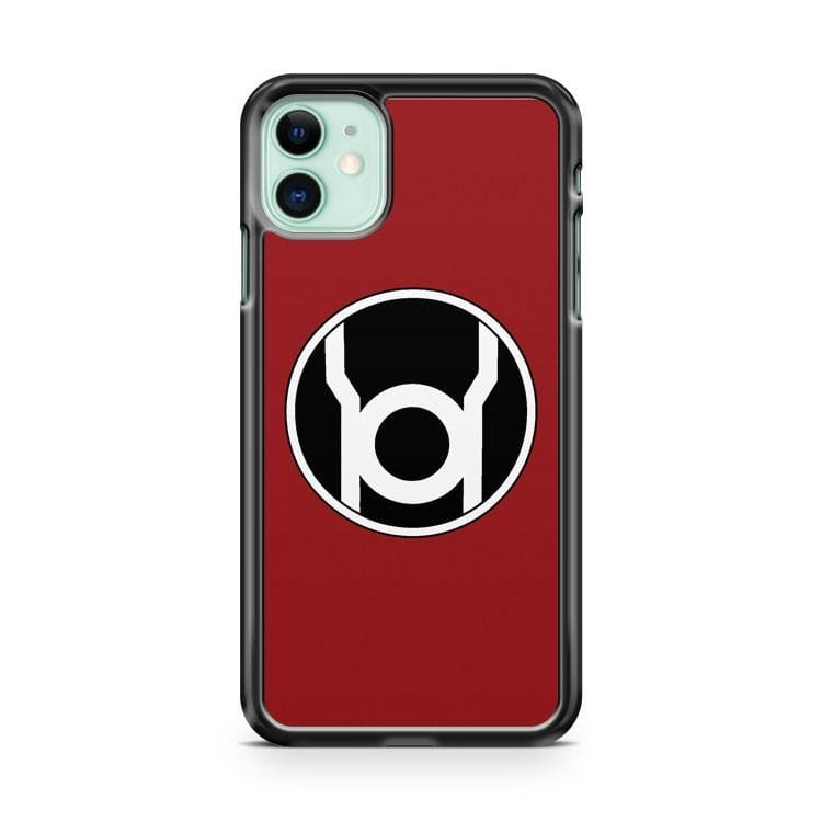 Red Lantern Corp iPhone 11 Case Cover
