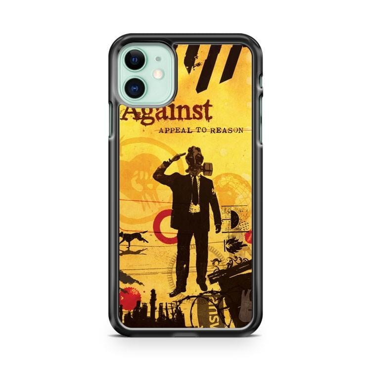 Rise Against Appeal To Reason Album Artwork iPhone 11 Case Cover