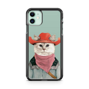 Rodeo Cat iPhone 11 Case Cover